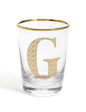 Letter G Glass, , catlanding