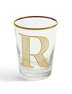 Letter R Glass, , catlanding