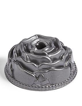 Mini Rose Die Cast Cake Pan, , catlanding
