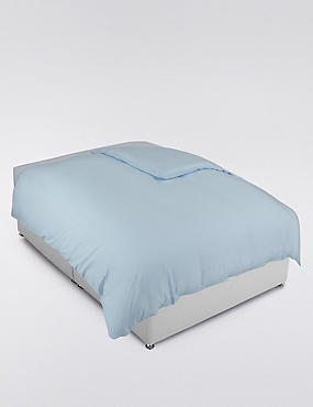 200 Thread Count Comfortably Cool Duvet Cover, POWDER BLUE, catlanding
