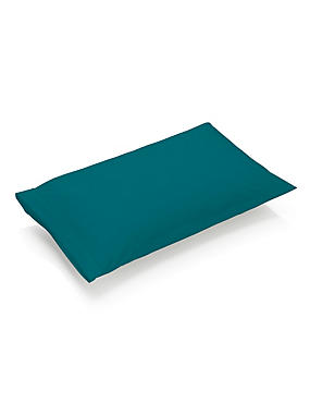 Pure Egyptian Cotton 230 Thread Count Housewife Pillowcase with StayNEW™, EMERALD, catlanding