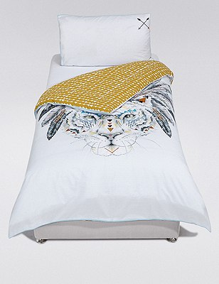 Cherokee Tiger Bedding Set, , catlanding