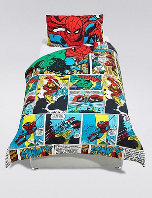 Marvel Avengers™ Superheroes Bedding Set, , catlanding