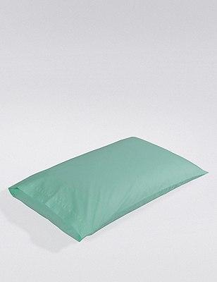Percale Pillowcase , MINT, catlanding