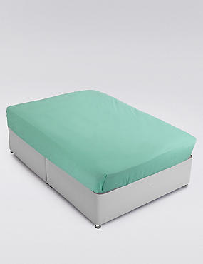 Cotton Rich Percale Flat Sheet , , catlanding
