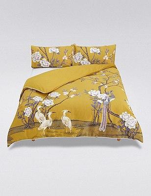 Ophelia Bedding Set, GOLD MIX, catlanding