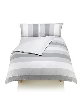 Parure de lit Brooklyn à rayures, GRIS ASSORTI, catlanding