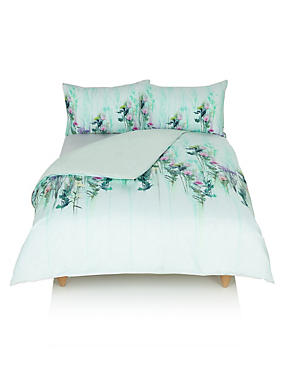 Digital Floral Bedding Set