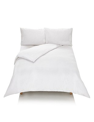 Cotton Rich Seersucker Bedding Set, WHITE, catlanding