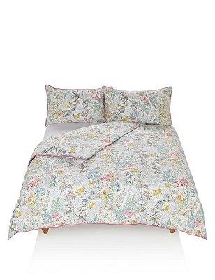 Adriana Floral Bedding Set, MULTI, catlanding
