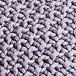 Knitted Throw, LILAC, swatch