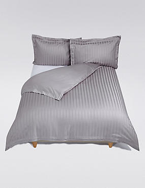 Double Cuff Bedding Set, SILVER, catlanding