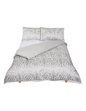 Elizabeth Jacquard Bedding Set, GREY, catlanding