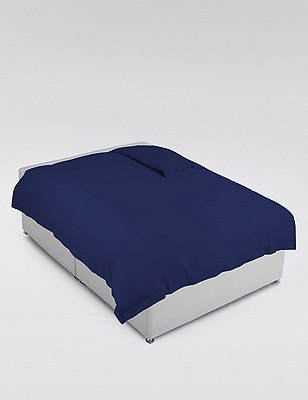 Egyptian Cotton Duvet Cover, FRENCH NAVY, catlanding