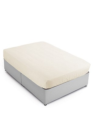 Pure Egyptian Cotton 400 Thread Count Deeper Fitted Sheet, CHAMPAGNE, catlanding