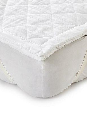 Supersoft Mattress Topper, WHITE, catlanding