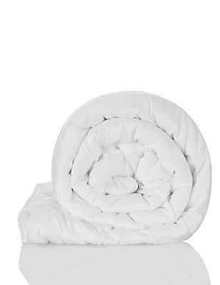 Supersoft 4.5 Tog Duvet, WHITE, catlanding
