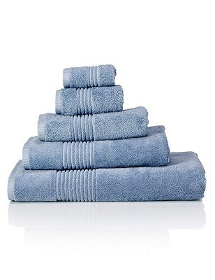Luxury Egyptian Towel, DENIM, catlanding
