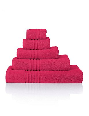 Luxury Egyptian Towel, HOT PINK, catlanding