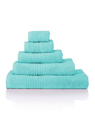 Luxury Egyptian Cotton Towel, AQUA, catlanding