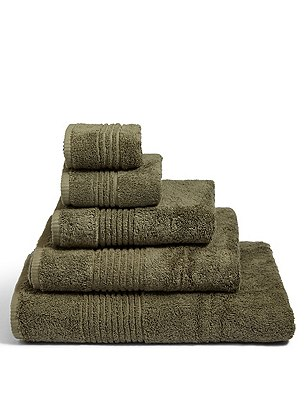 Luxury Egyptian Cotton Towel, KHAKI, catlanding