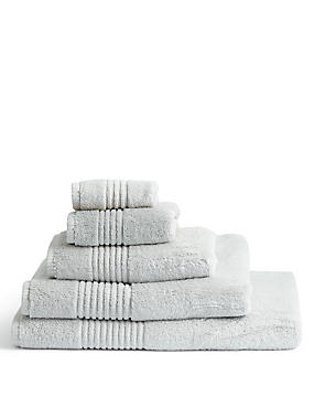 Luxury Egyptian Cotton Towel, PEARL GREY, catlanding