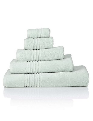 Luxury Egyptian Towel, PALE MINT, catlanding