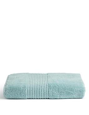 Grande serviette en coton égyptien de qualité supérieure, GRIS-BLEU, catlanding