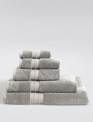 Supima® Cotton Towels, LIGHT GREY, catlanding