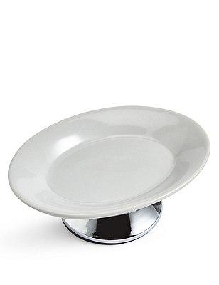 Tulip Soap Dish, GREY, catlanding