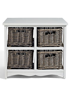 Country 2x2 Storage Basket, , catlanding
