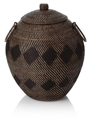 Silk Route Laundry Basket, , catlanding