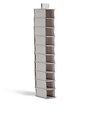 10 Shelf Organiser, , catlanding
