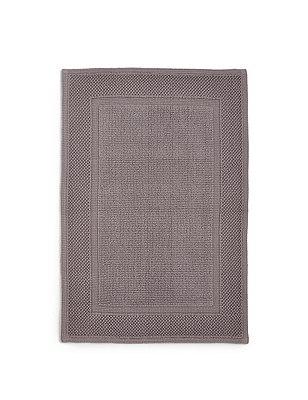 Loft Flat Woven Mat, CHARCOAL, catlanding