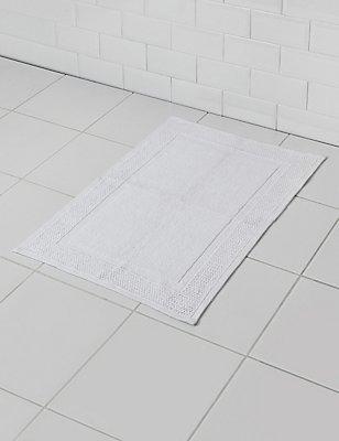 Loft Flat Woven Mat, WHITE, catlanding