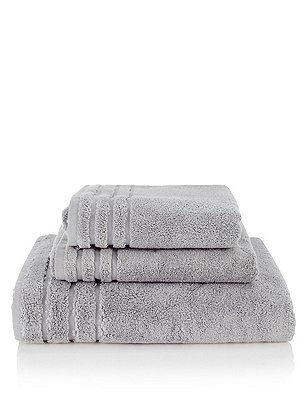 Spa Towel, SILVER GREY, catlanding
