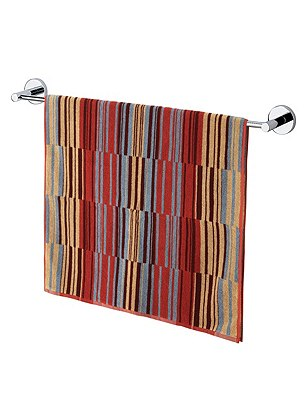Boston Striped Towel, TERRACOTTA MIX, catlanding