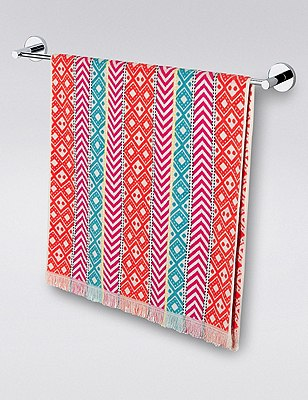 Peruvian Patterned Towel, MULTI, catlanding