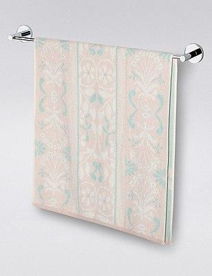 Mirror Floral Towel, PINK MIX, catlanding