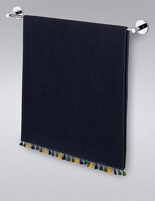 Paradise Tassels Towel, NAVY MIX, catlanding