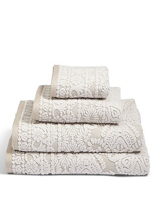 Saloon Frame Towel, NATURAL MIX, catlanding
