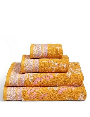Cherry Blossom Towel, OCHRE, catlanding