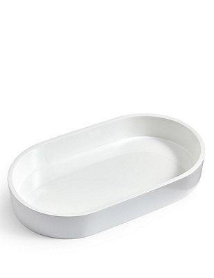 Resin Smaller Tray New, WHITE, catlanding