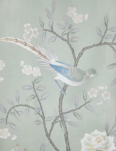 Keepsake Bird Print Shower Curtain | M&S
