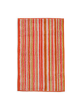 Phoenix Striped Mat, CORAL MIX, catlanding
