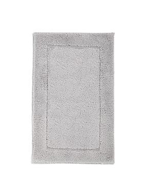Tapis de bain et contour lavabo/WC à séchage rapide, GRIS ARGENT, catlanding