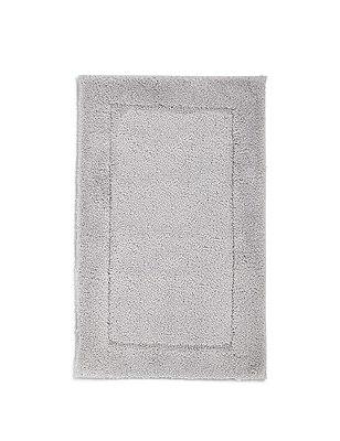 Quick Dry Bath Mat, SILVER GREY, catlanding