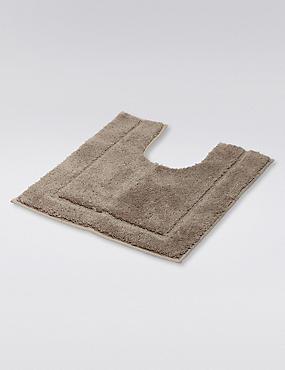 Tapis de bain et contour lavabo/WC à séchage rapide, TAUPE, catlanding