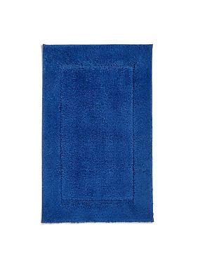 Quick Dry Bath & Pedestal Mats, MID BLUE, catlanding