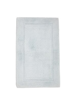 Pure Egyptian Cotton Bath & Pedestal Mats, LIGHT DUCK EGG, catlanding